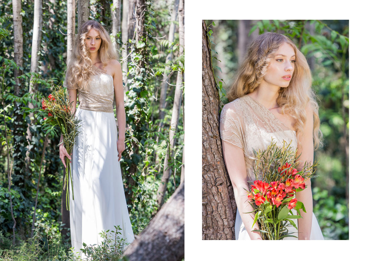 Romantic Boho Chic Wedding Dress