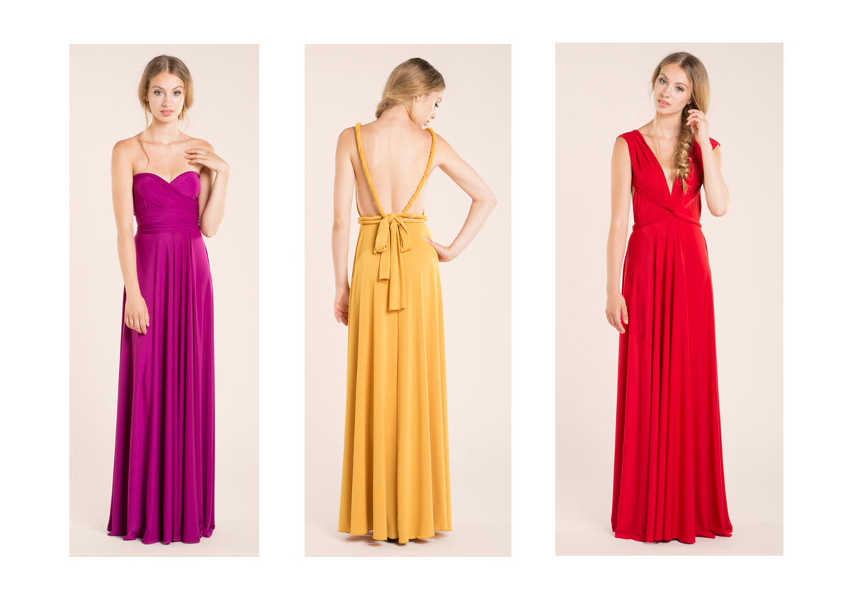Vestidos para damas de honor barcelona
