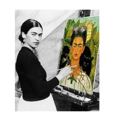 Frida-kahlo-inspire-me-painting-flowers