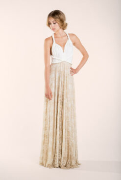 gala-rustic-long-lace-dress-wedding-ivory-golden-front-mimetik-bcn