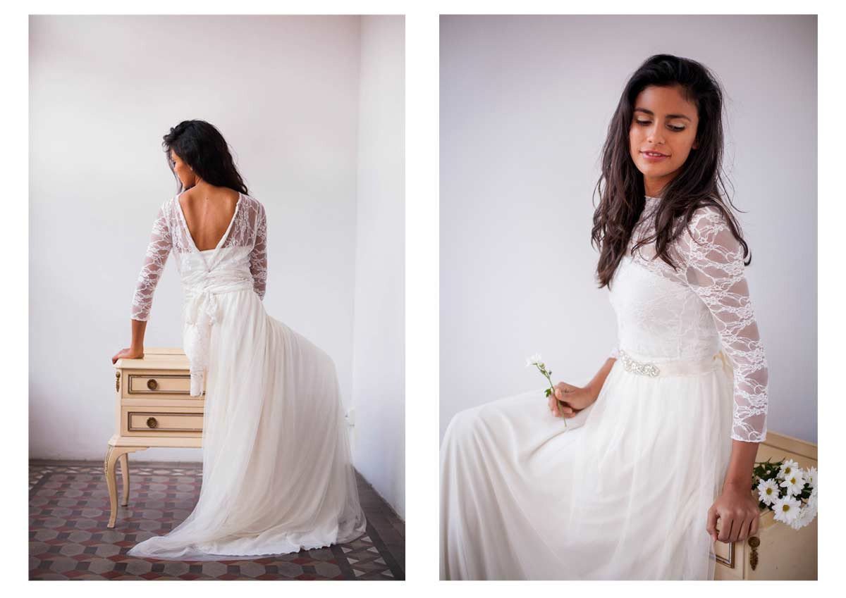 Frida-Wedding-dress-Ivory-tulle-skirt--lace-bodice--mimetik-01