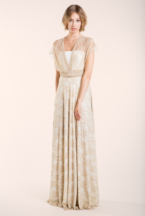 gala-bohemian-ivory-long-golden-lace-wedding-dress-front-mimetik-bcn