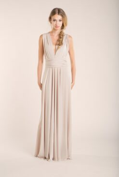 gala-long-dress-wedding-champagne-front-mimetik-bcn
