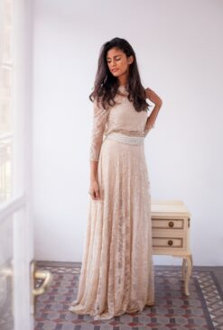 Golden-Lace-Wedding-Dress-Mimetik-Bcn