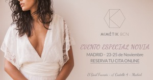 Evento especial novias Madrid
