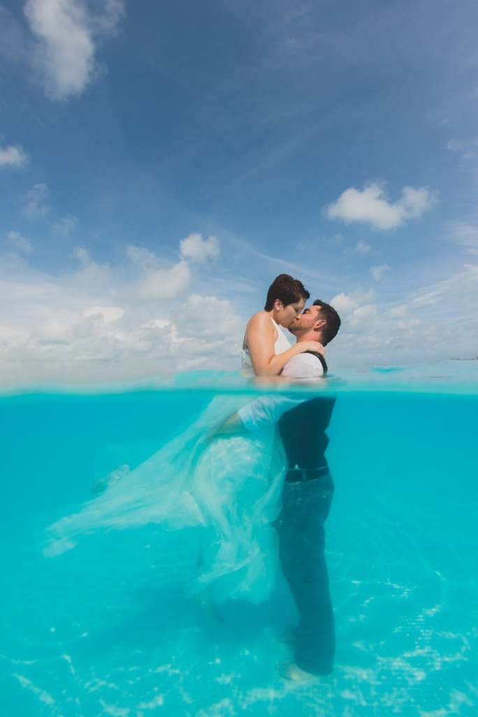 bride-and-groom-in-water