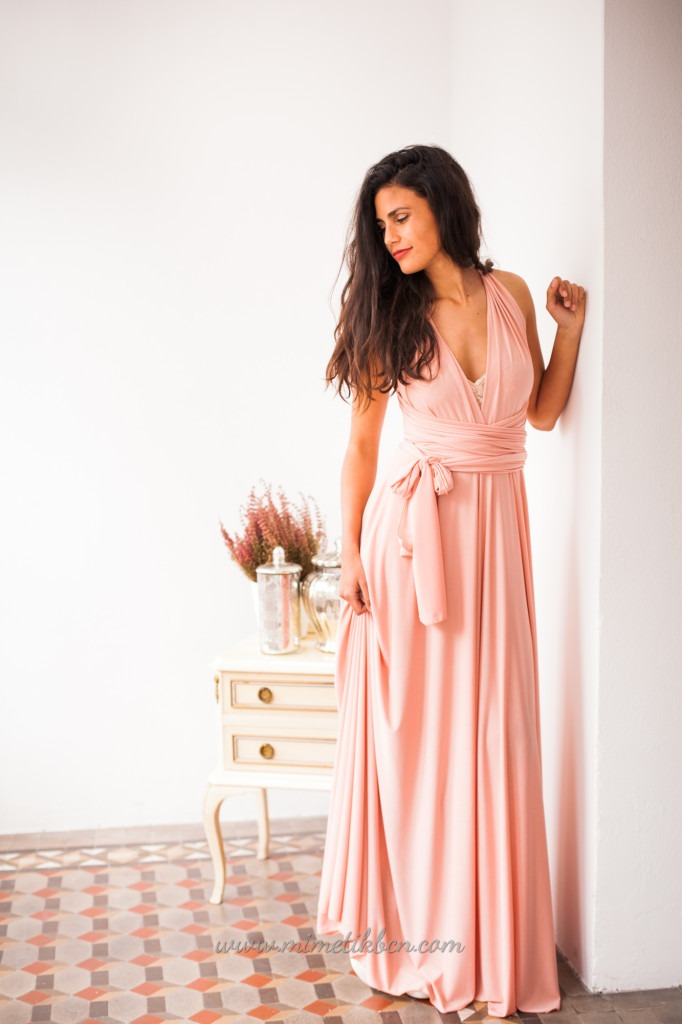 nude dress for wedding