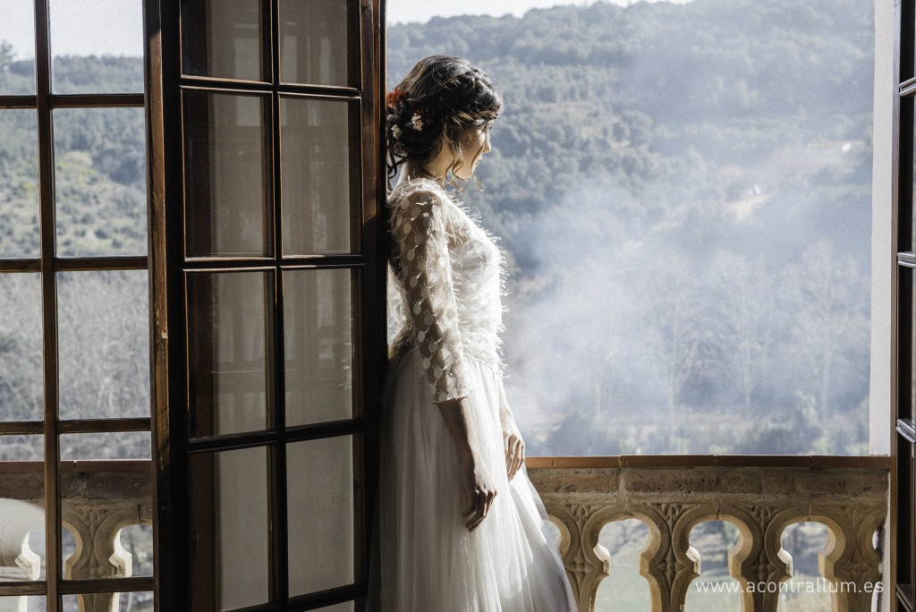 mountain wedding dress