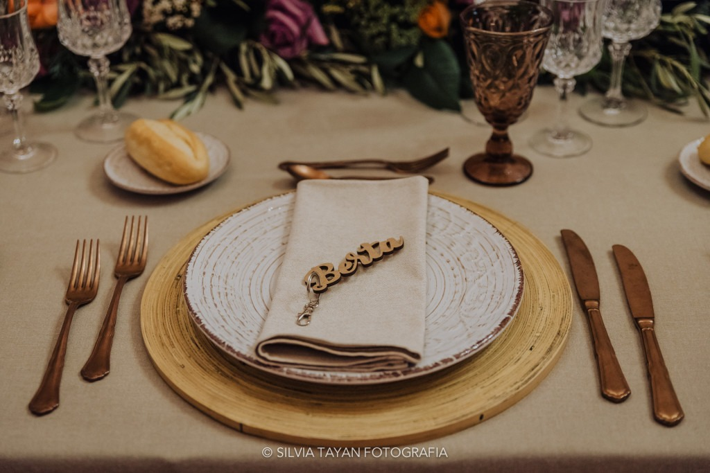 rustic wedding cutlery