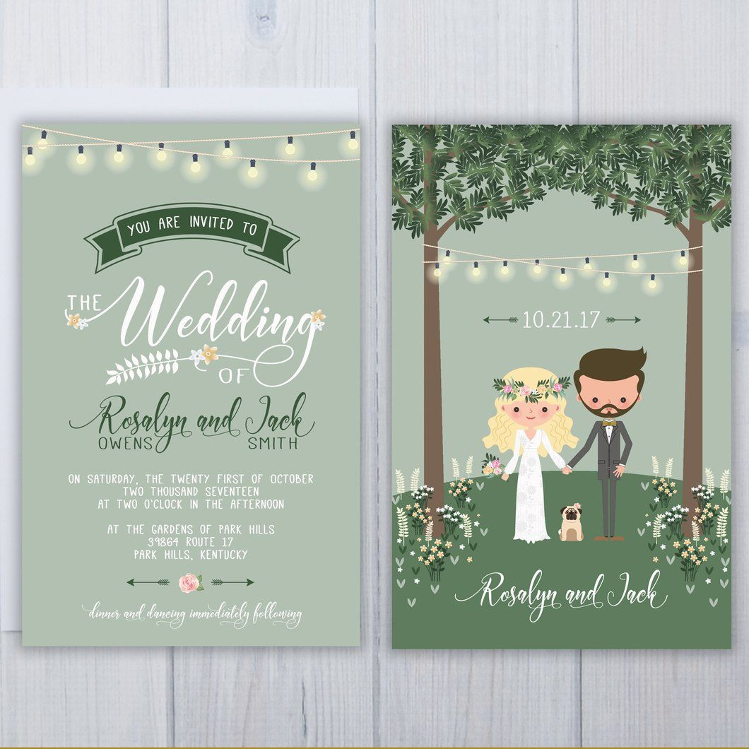 wedding invitations with pets