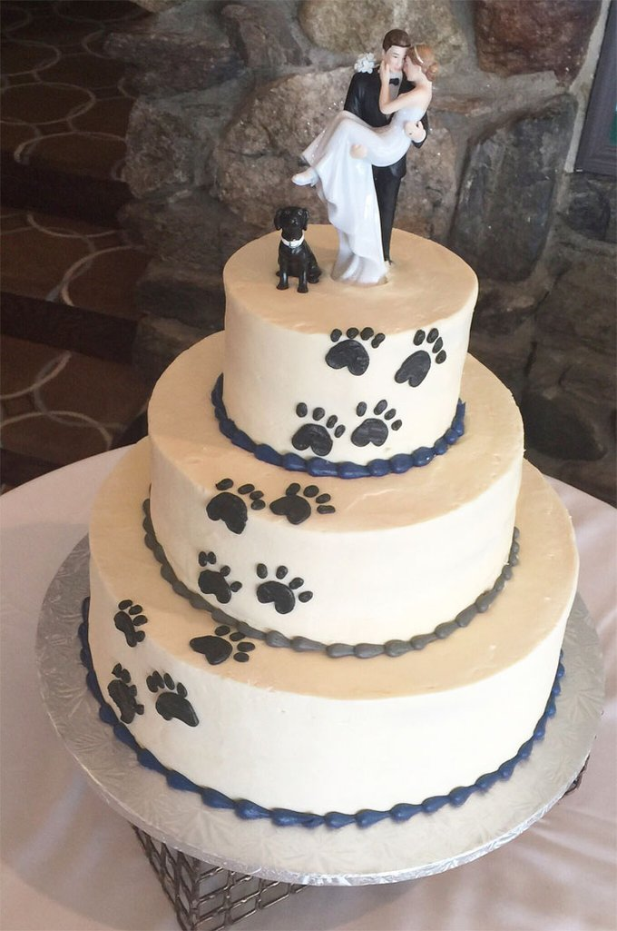 cake topper dogs
